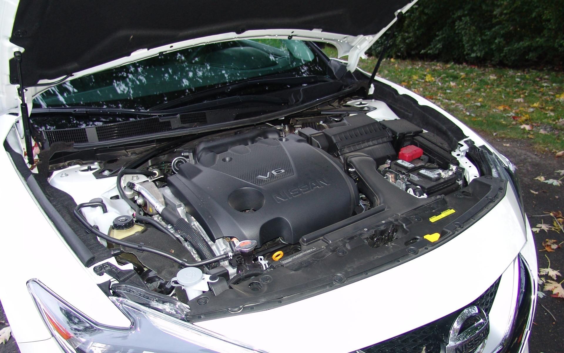 Ce V6 de 3,5 litres développe 300 chevaux et 261 livres-pied de couple.