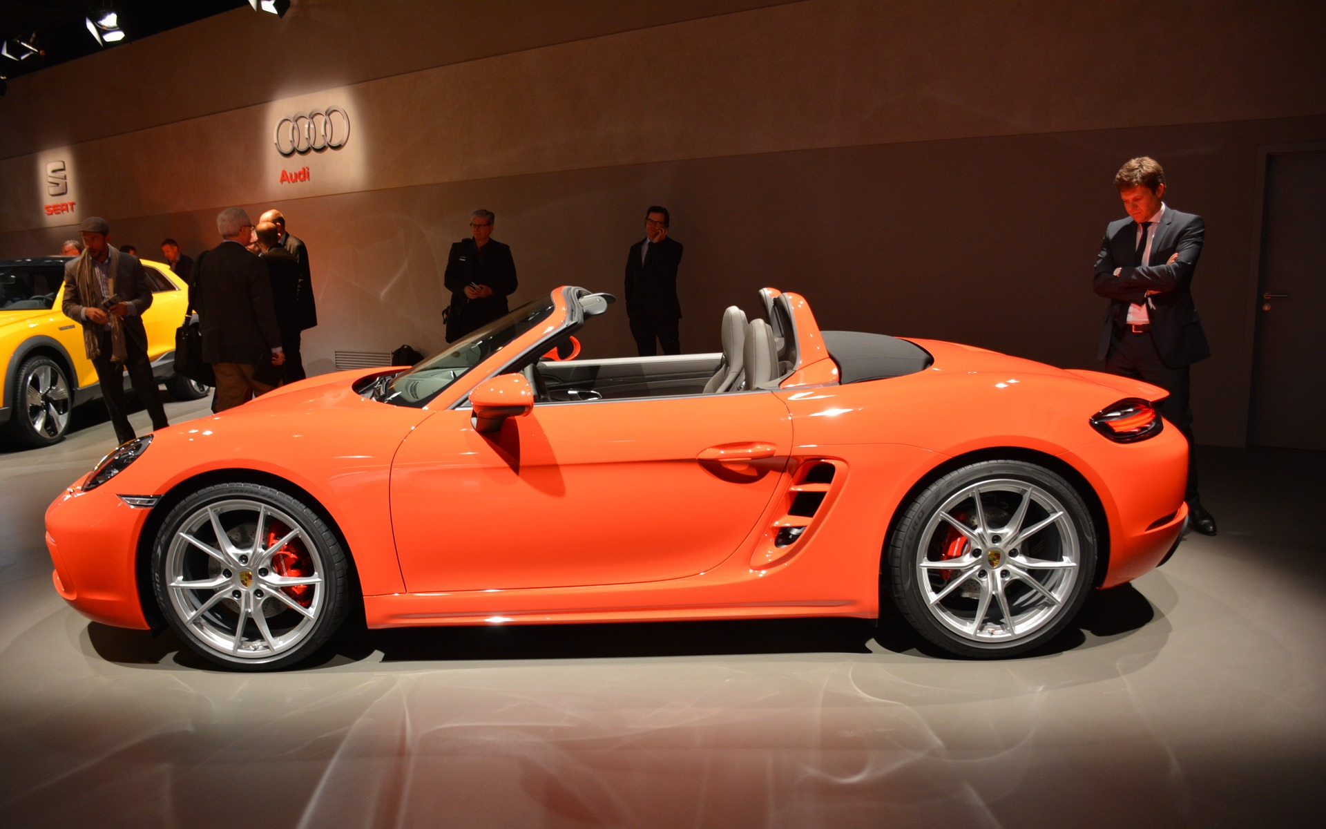 salon de l auto de gen ve 2016 la porsche 718 boxster guide auto. Black Bedroom Furniture Sets. Home Design Ideas
