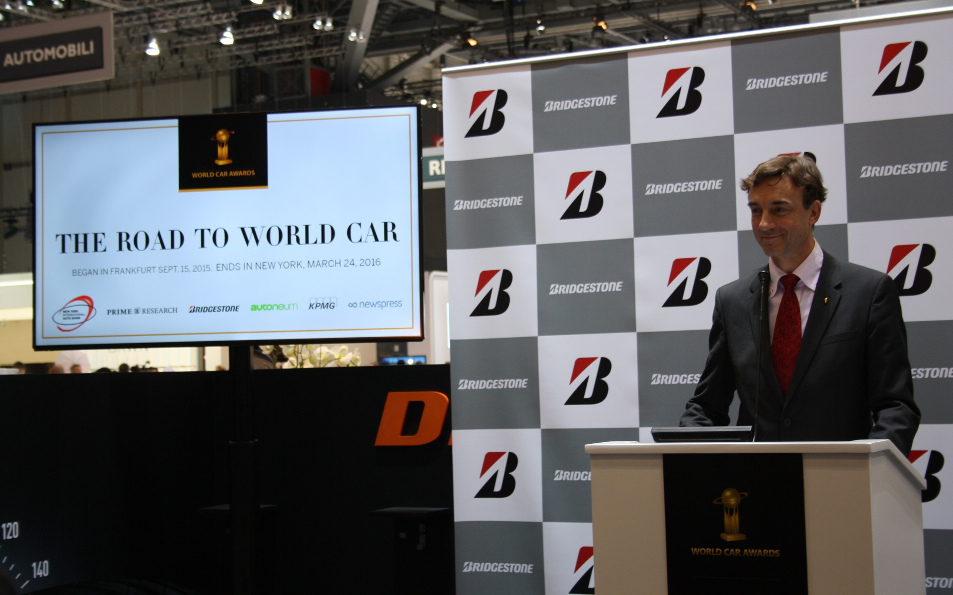 2016 World Car of the Year Awards at the Geneva Motor Show