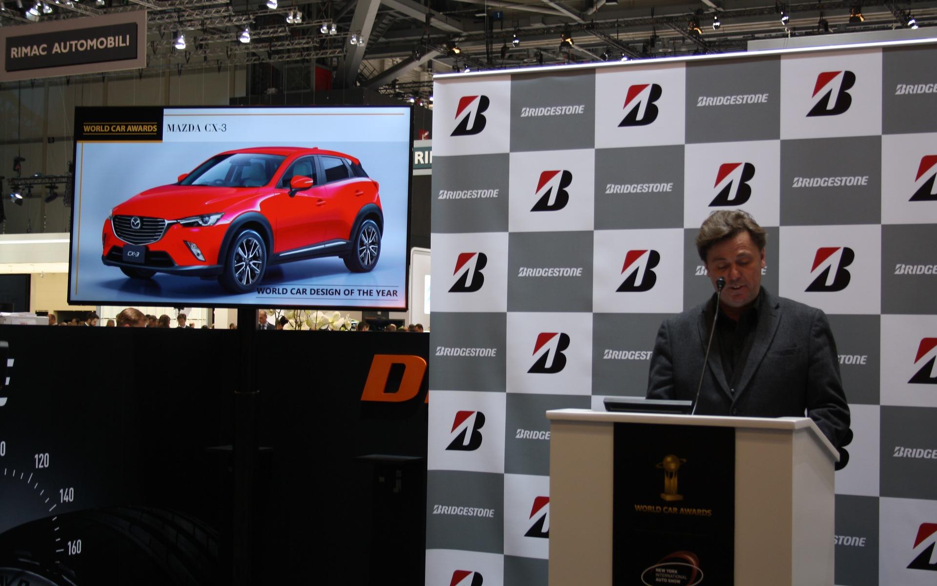 2016 World Car Design of the Year finalist: Mazda CX-3