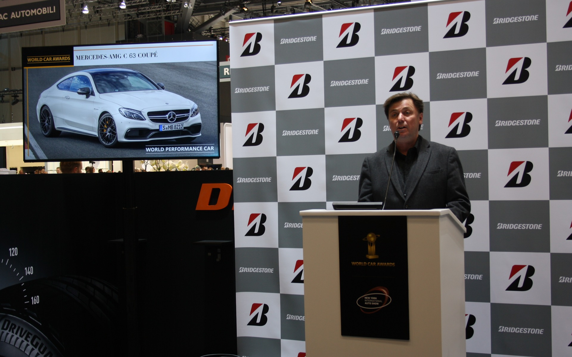 2016 World Performance Car of the Year finalist: Mercedes-AMG C 63 Coupé