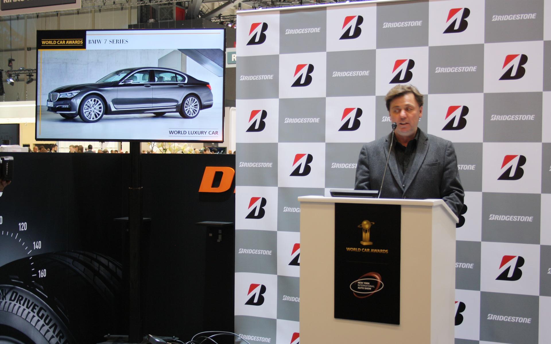 2016 World Luxury Car of the Year finalist: BMW 7 Series