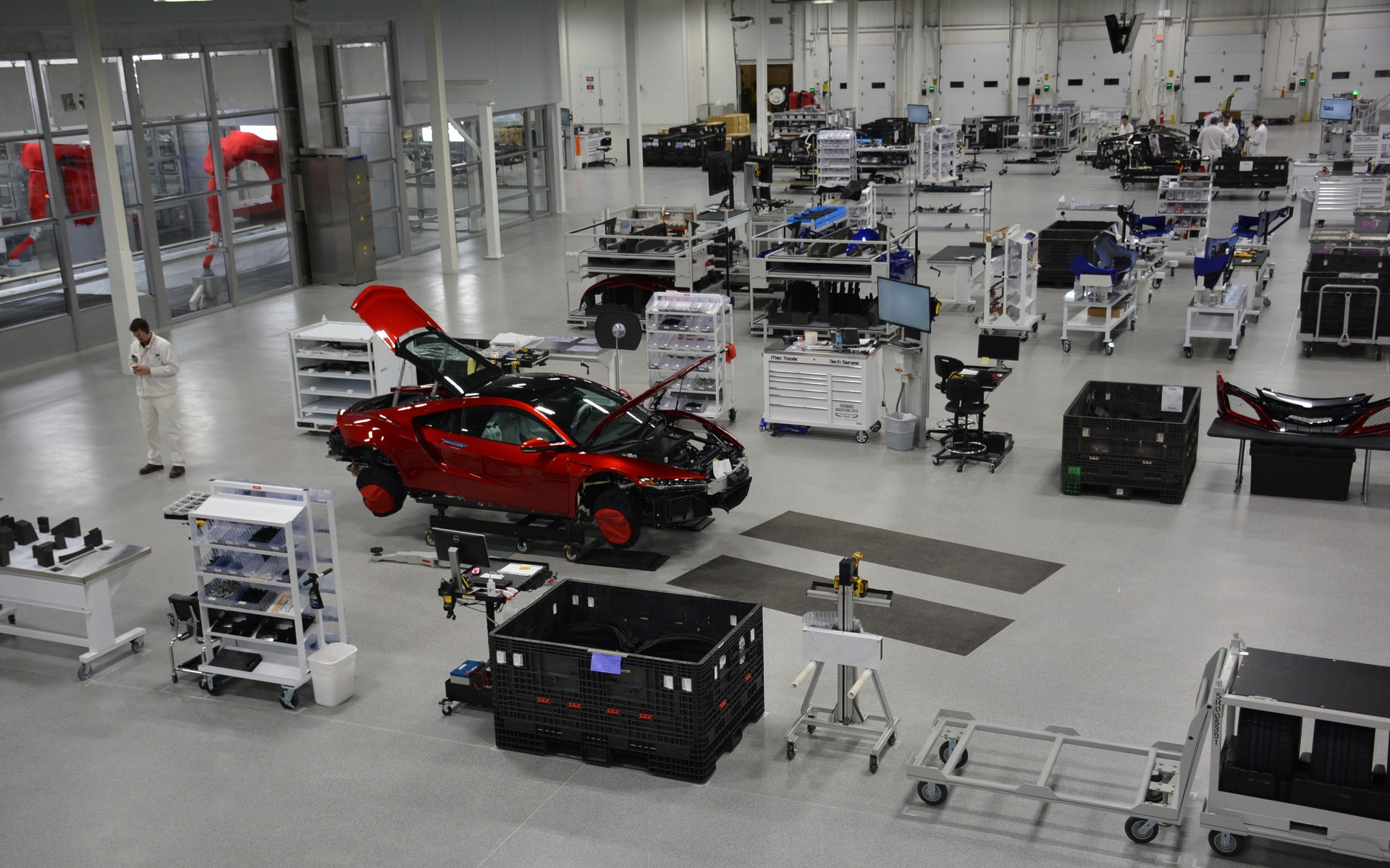 Performance Manufacturing Center de l'Acura NSX