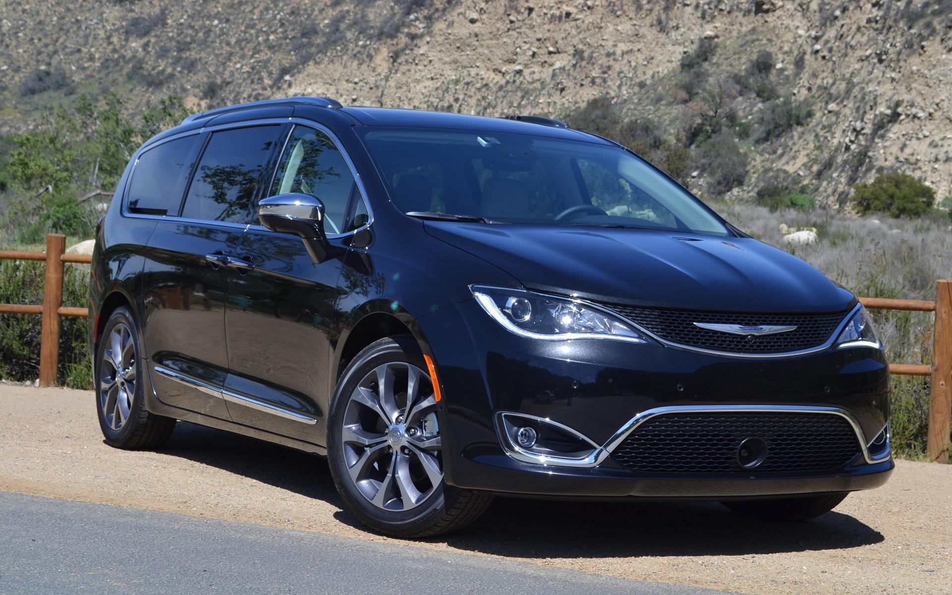 Notre essai routier de la Chrysler Pacifica 2017