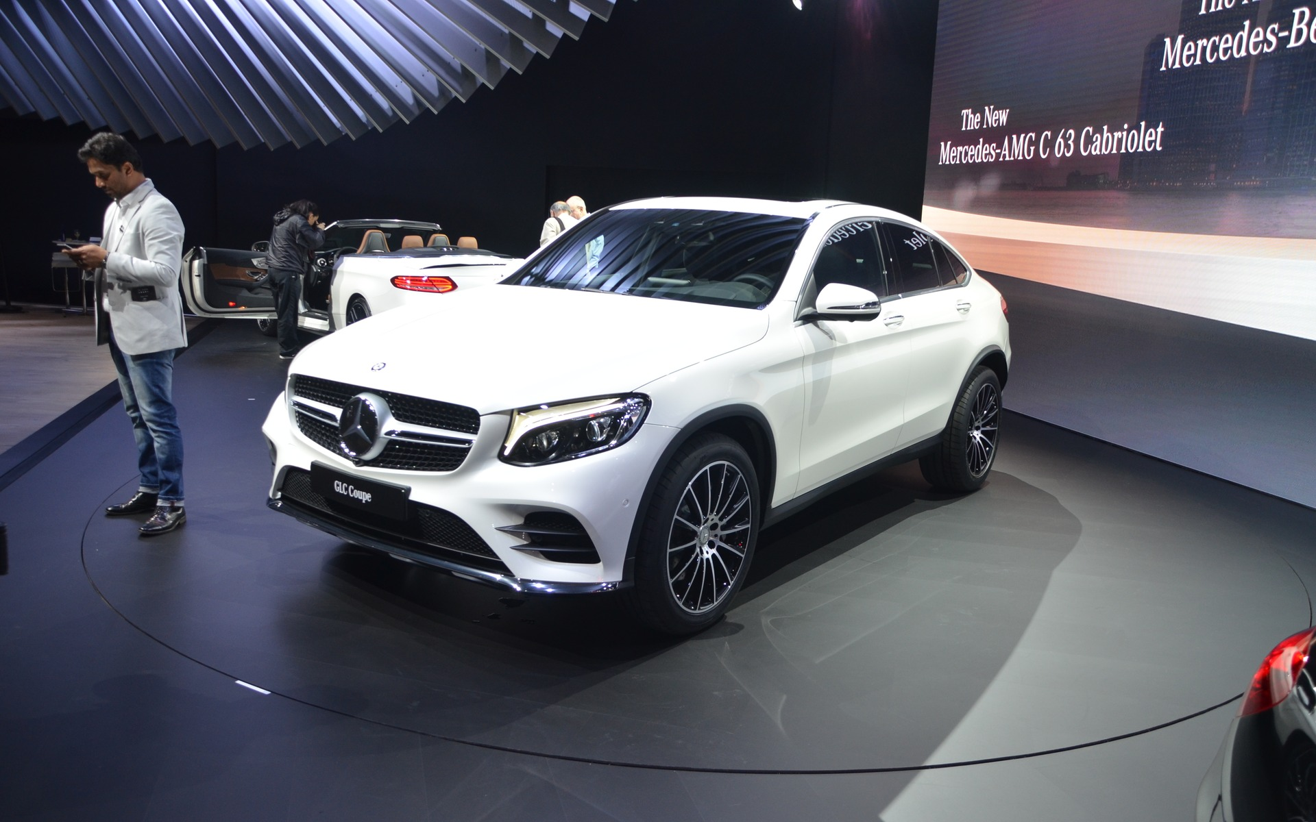 Mercedes benz will unveil the glc coupe in new york the for Mercedes benz in nyc