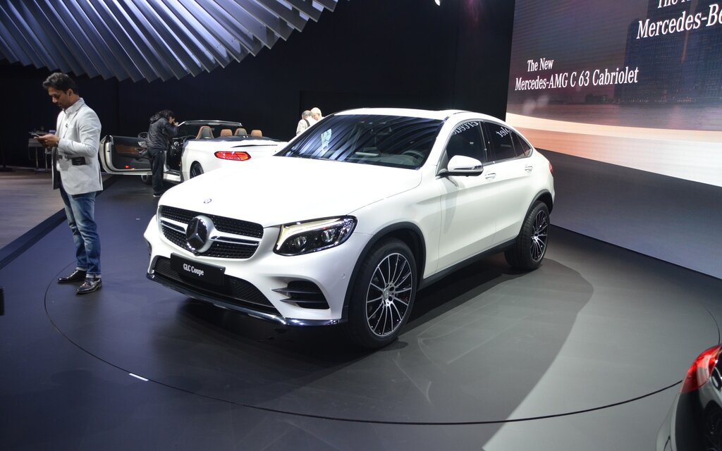 Mercedes-Benz Will Unveil the GLC Coupe in New York - The ...