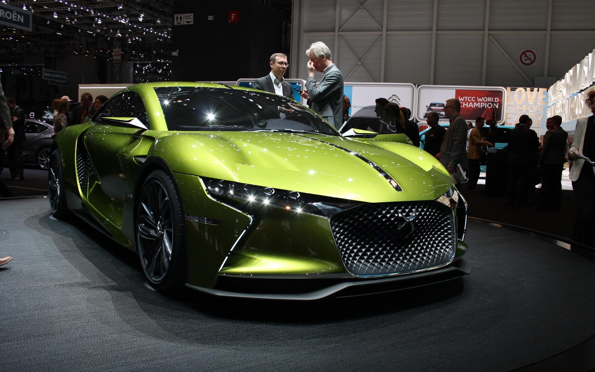 Le concept Citroën tout électrique produisant 400 chevaux métriques
