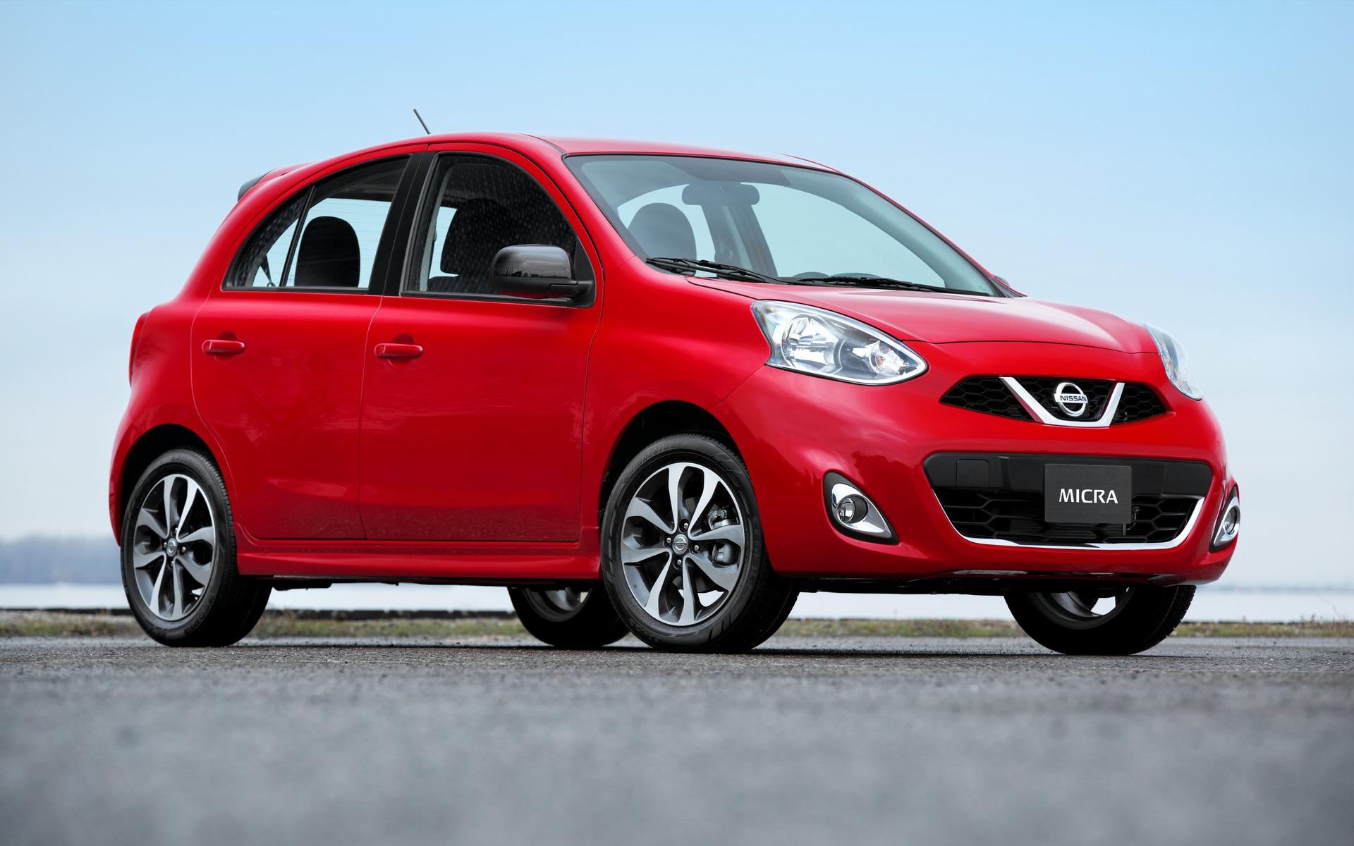 2016 Nissan Micra: $9,988 MSRP