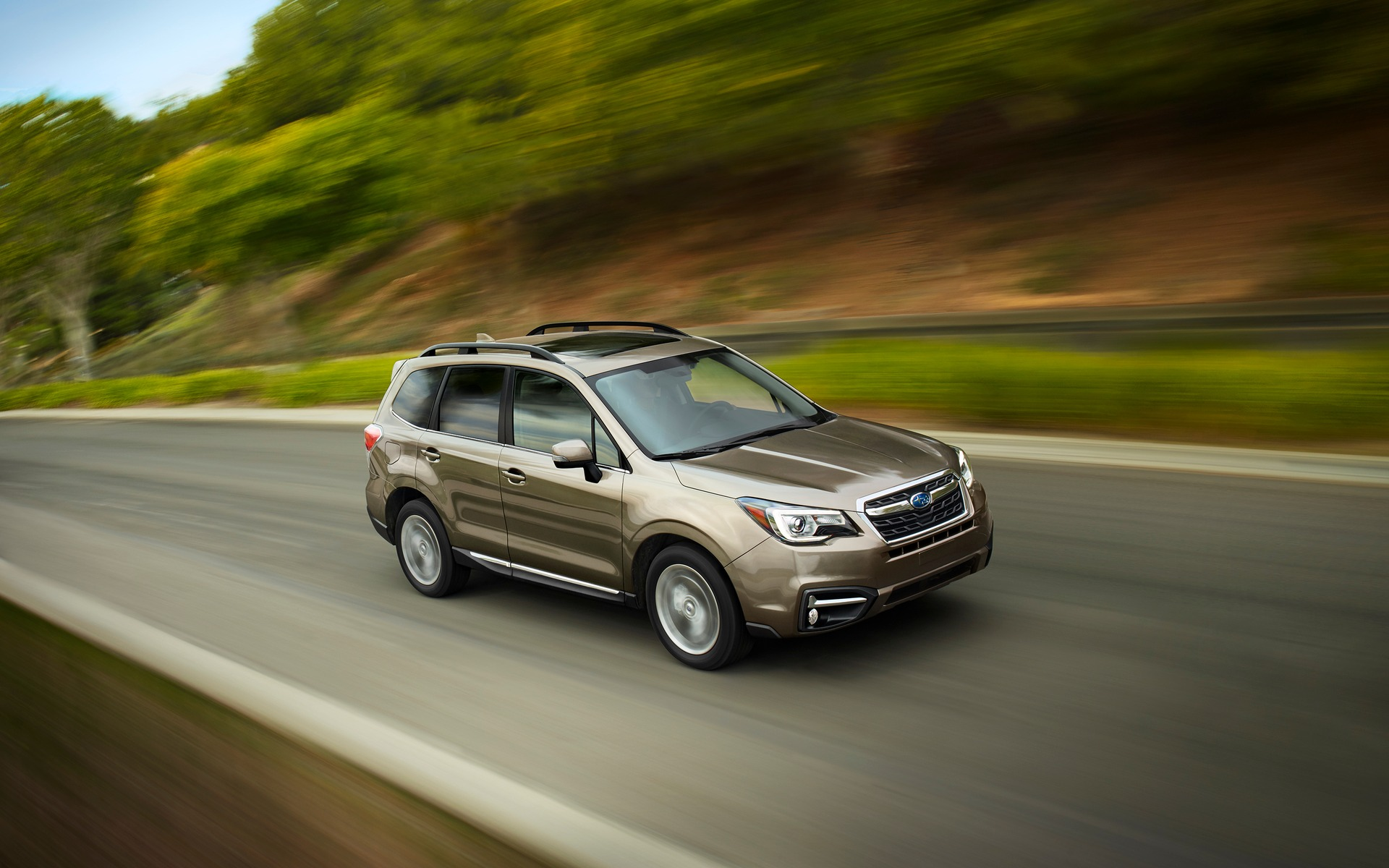 The new 2017 Subaru Forester