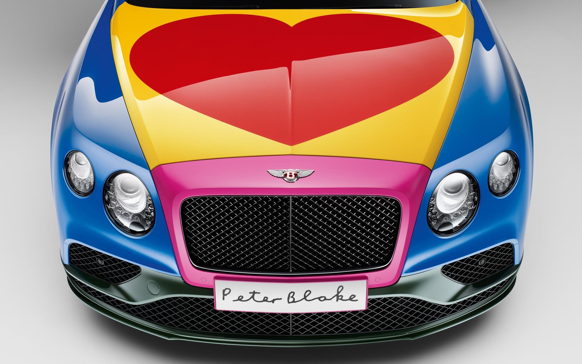 La Bentley Continental GT V8 S convertible aux couleurs uniques