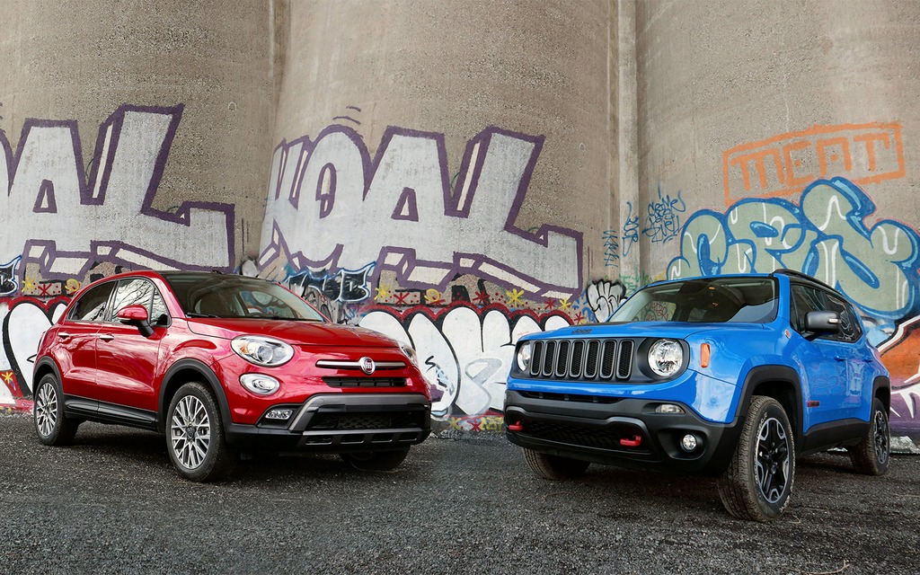 2016 fiat 500x vs 2016 jeep renegade two peas, different pods2016 fiat 500x vs 2016 jeep renegade two peas, different pods