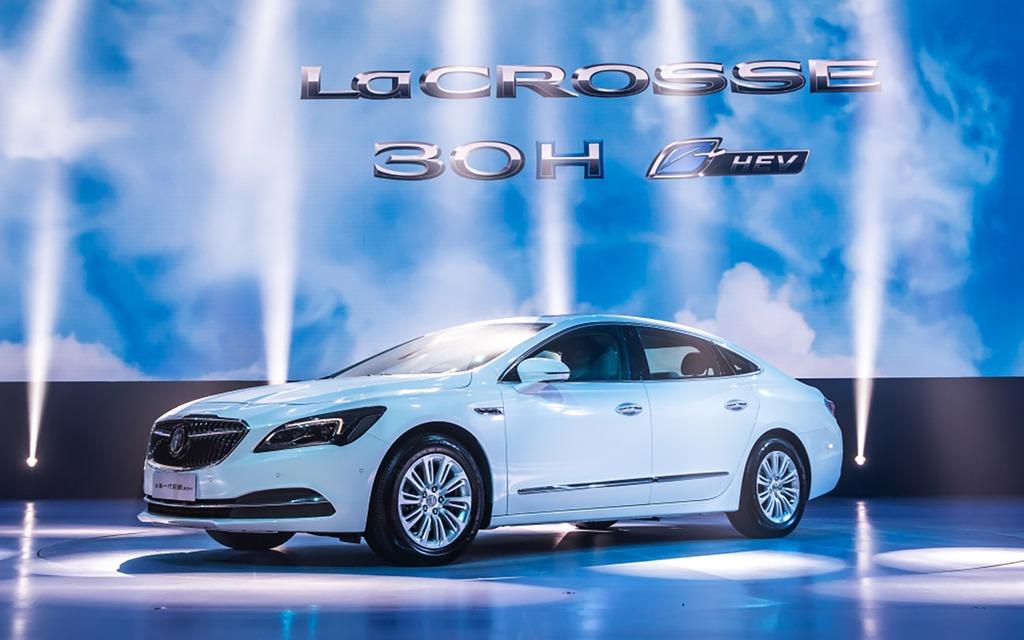 Buick LaCrosse Hybride 2017 - Elle consommerait 4,7 litres au 100 km