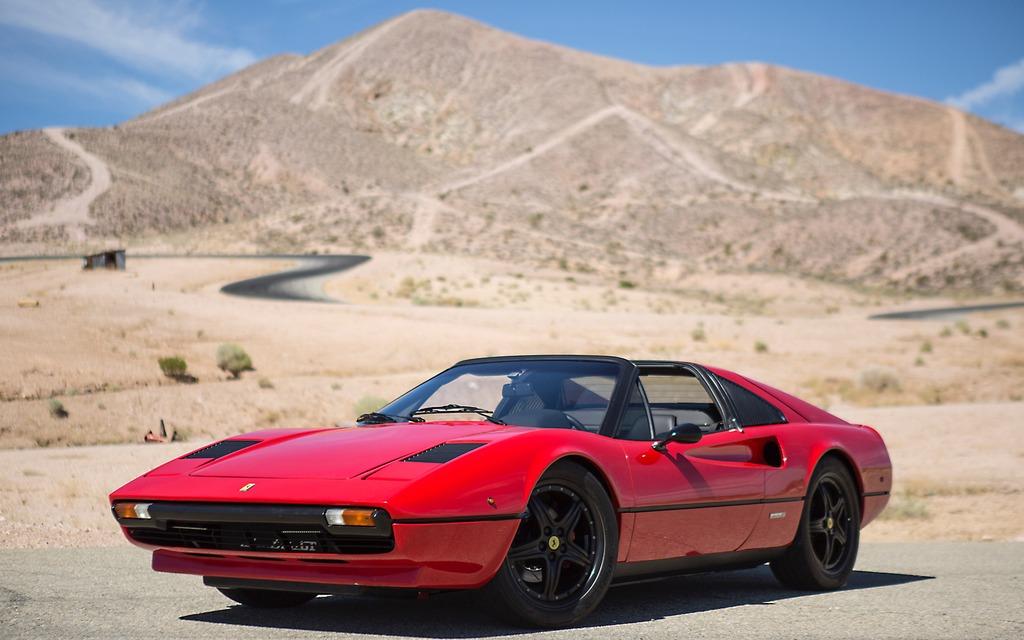 Le rugissement du V8 de la Ferrari 308 GTS ne se fait plus entendre