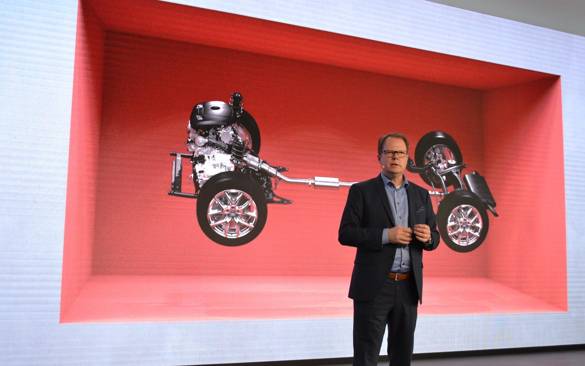 Volvo's new CMA platform