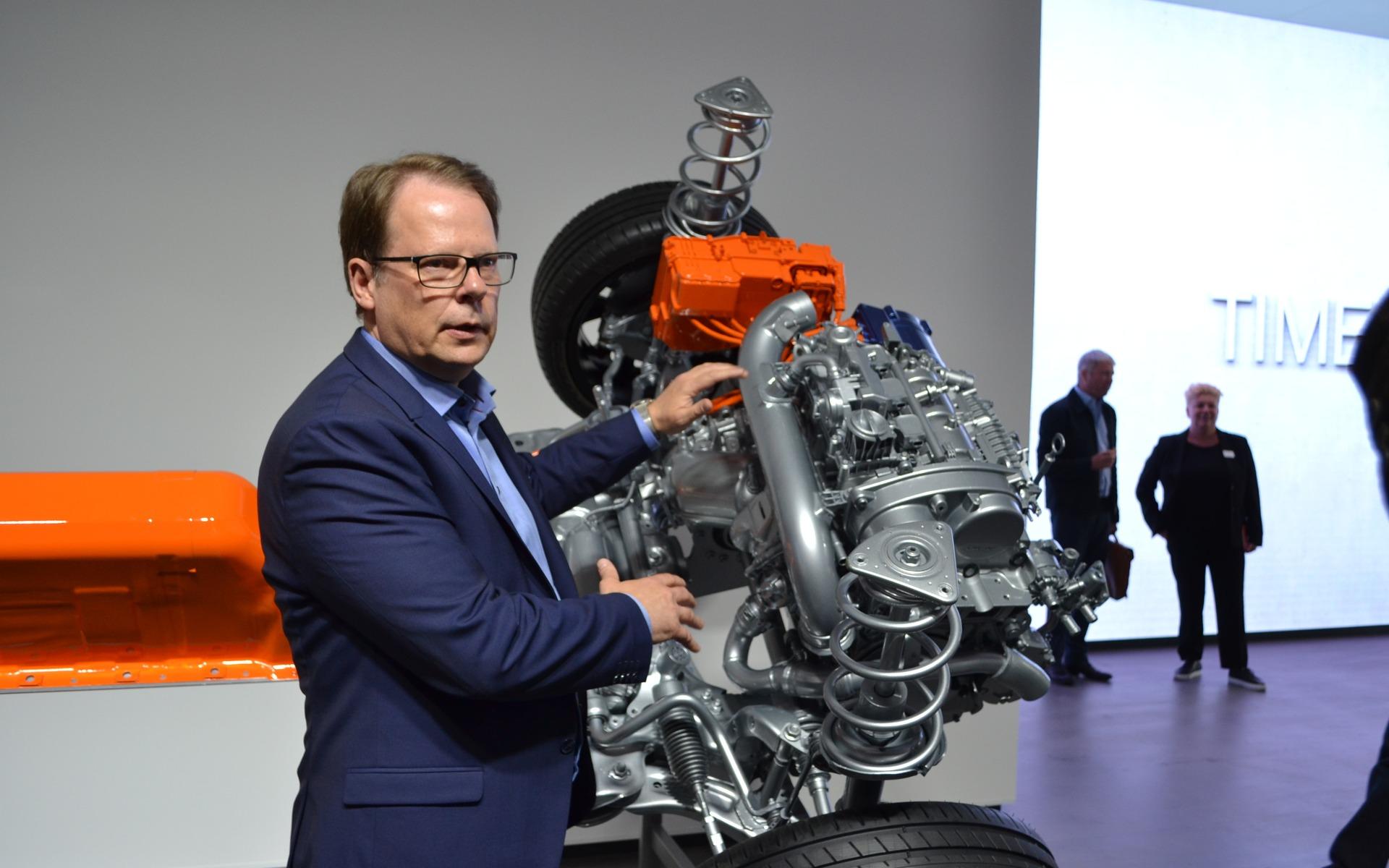 The new T5 hybrid powertrain