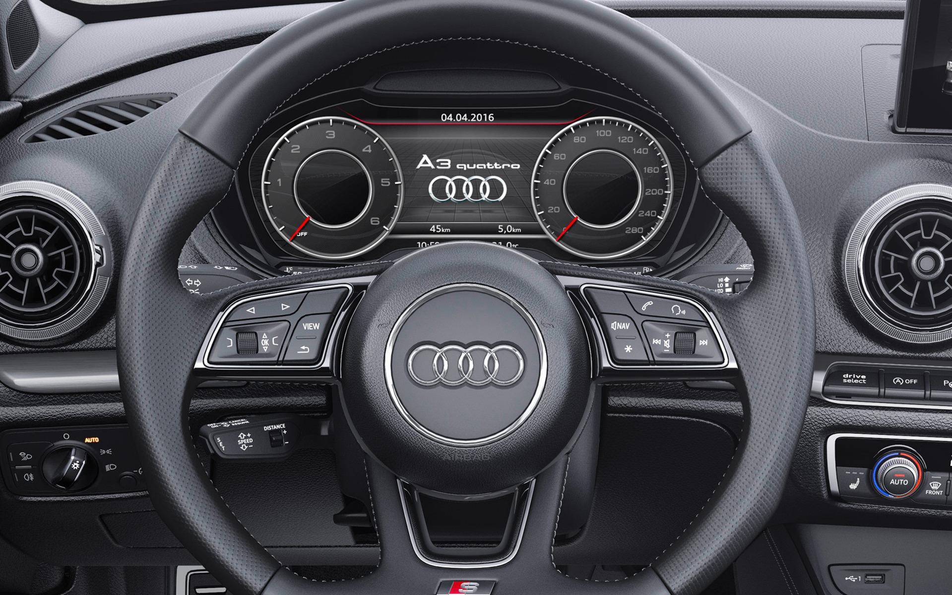 Un autre affichage du Audi virtual cockpit