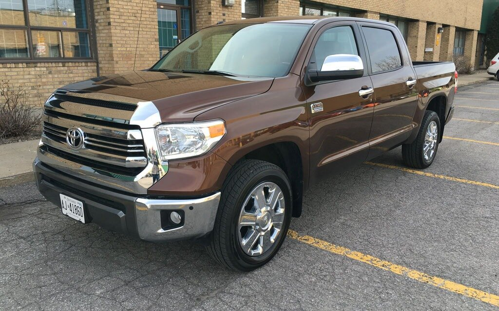 2016 Toyota Tundra Diesel >> 2016 Toyota Tundra 1794 Edition Almost There The Car Guide