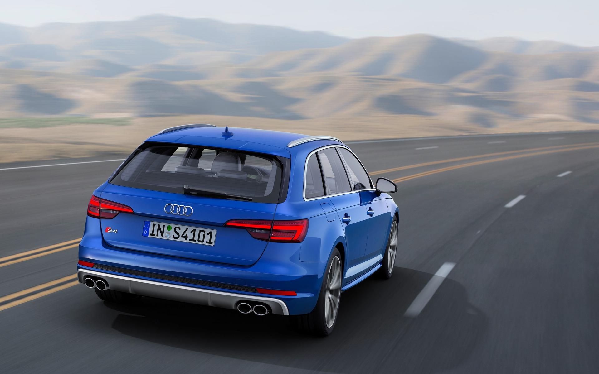 Audi S4 Avant 2018