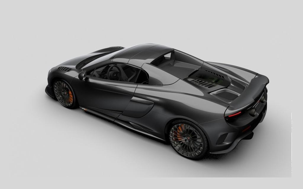 McLaren Limited Edition MSO Carbon Series LT