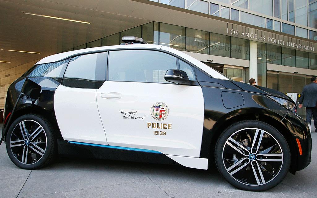 BMW i3 Police