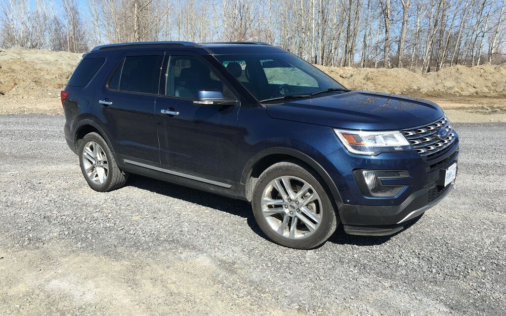 2016 ford explorer limited efficient family hauler the car guide. Black Bedroom Furniture Sets. Home Design Ideas
