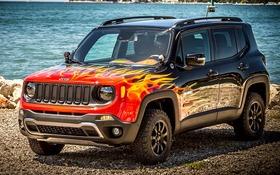 jeep renegade 2018 essais actualit galeries photos et vid os guide auto. Black Bedroom Furniture Sets. Home Design Ideas