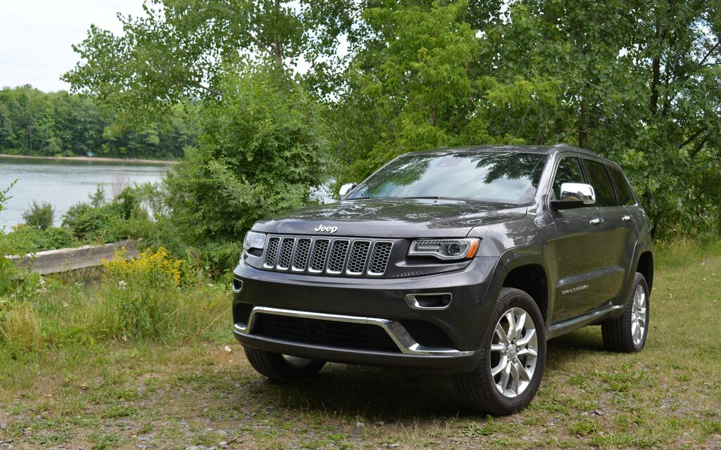 2016 jeep grand cherokee summit ecodiesel truly at the summit the car guide. Black Bedroom Furniture Sets. Home Design Ideas