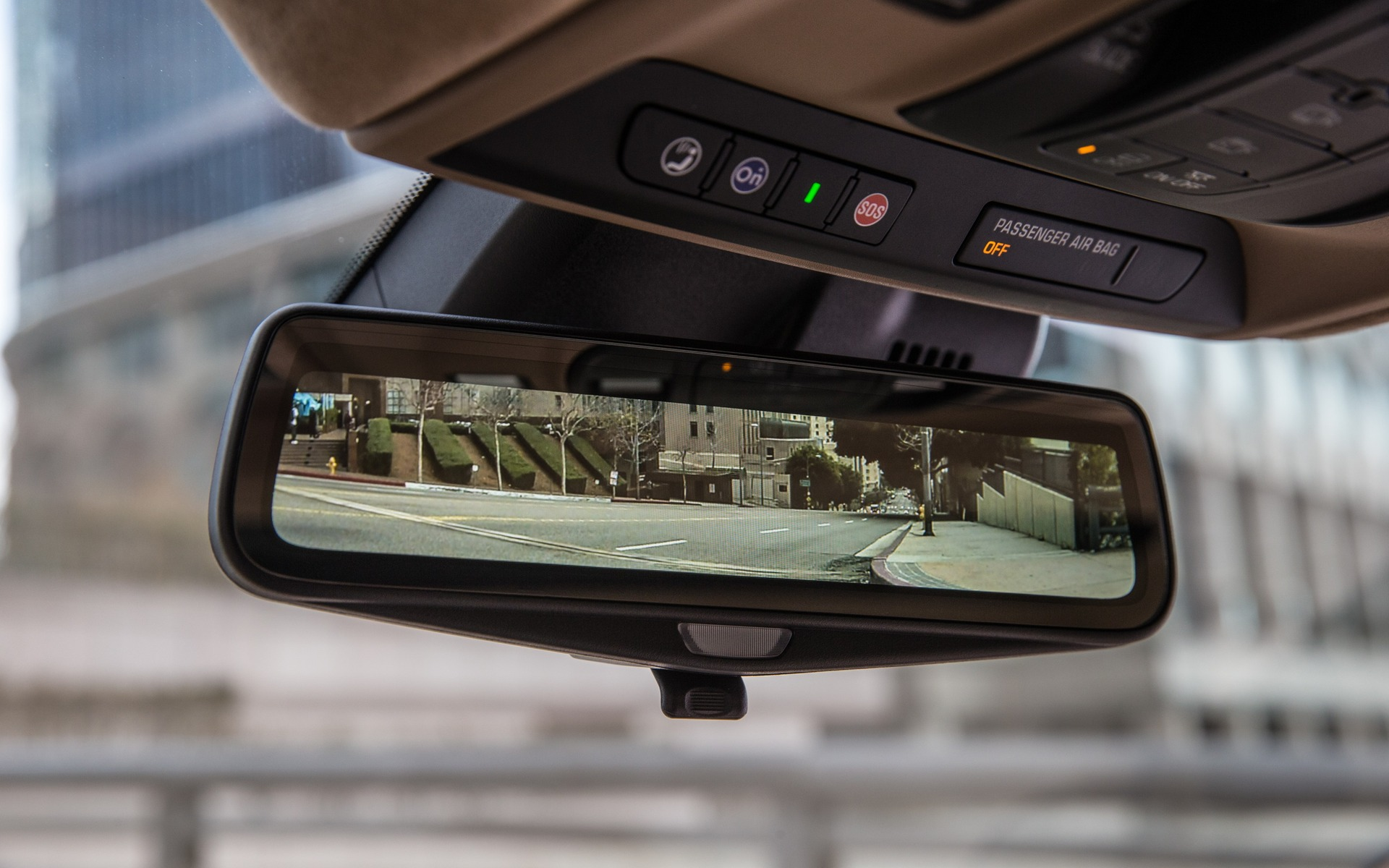 Cadillac S Rear Camera Mirror The Car Guide