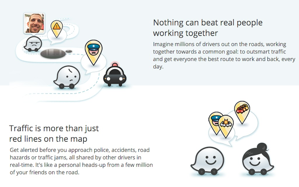 the problem with waze the car guide. Black Bedroom Furniture Sets. Home Design Ideas
