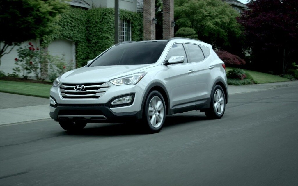 hyundai santa fe 2016 la classe sans la pr tention guide auto. Black Bedroom Furniture Sets. Home Design Ideas