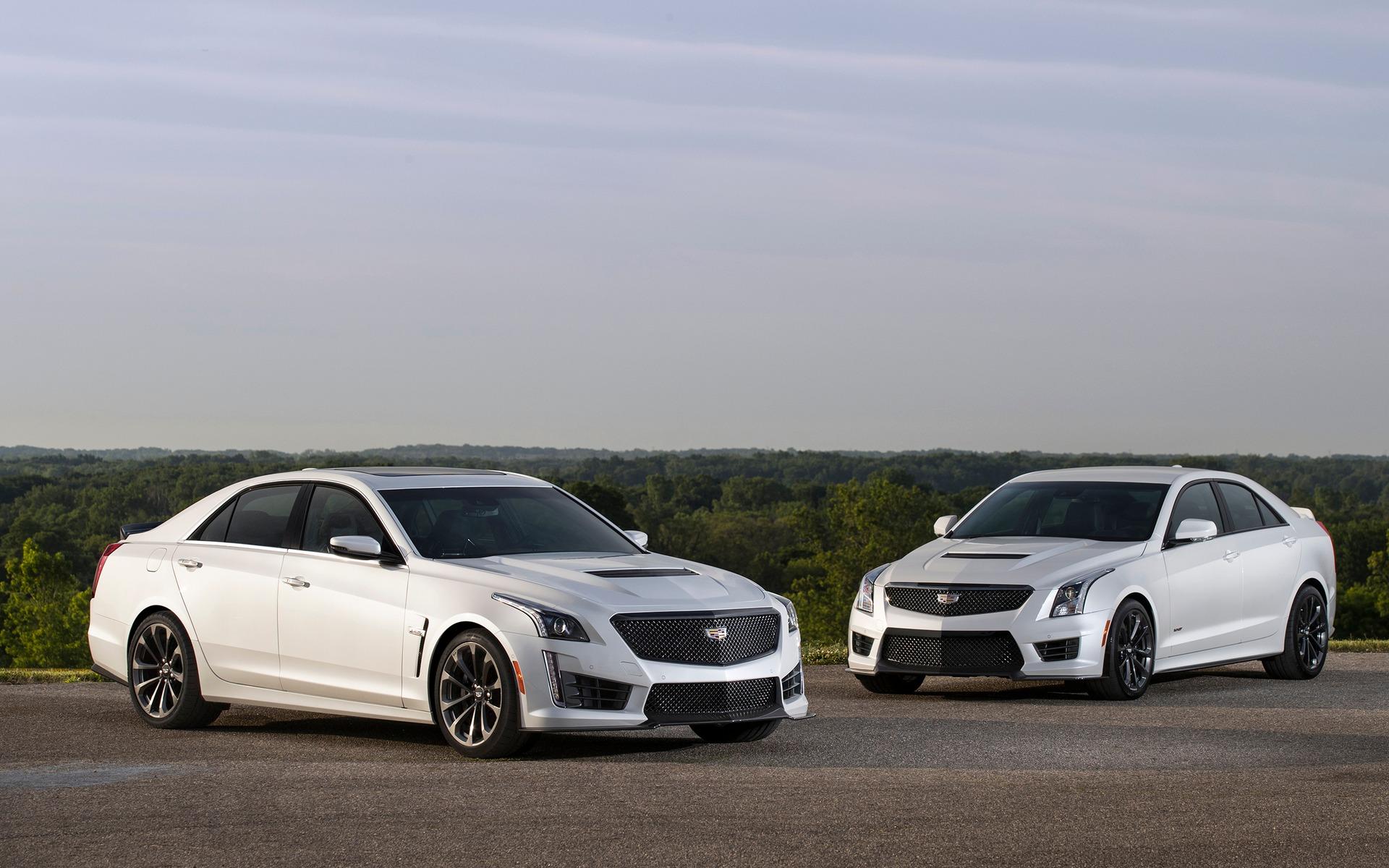 Cadillac CTS-V Carbon Black et ATS-V Carbon Black 2017