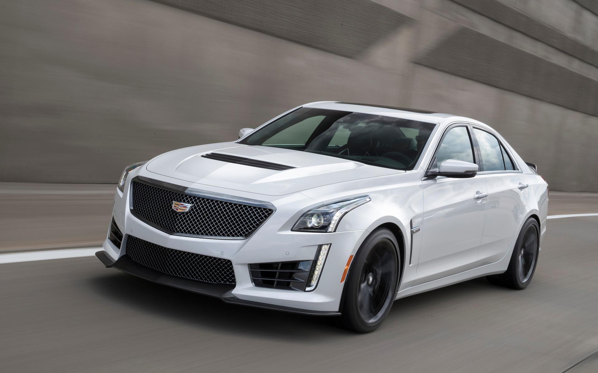 2017 Cadillac CTS-V Carbon Black