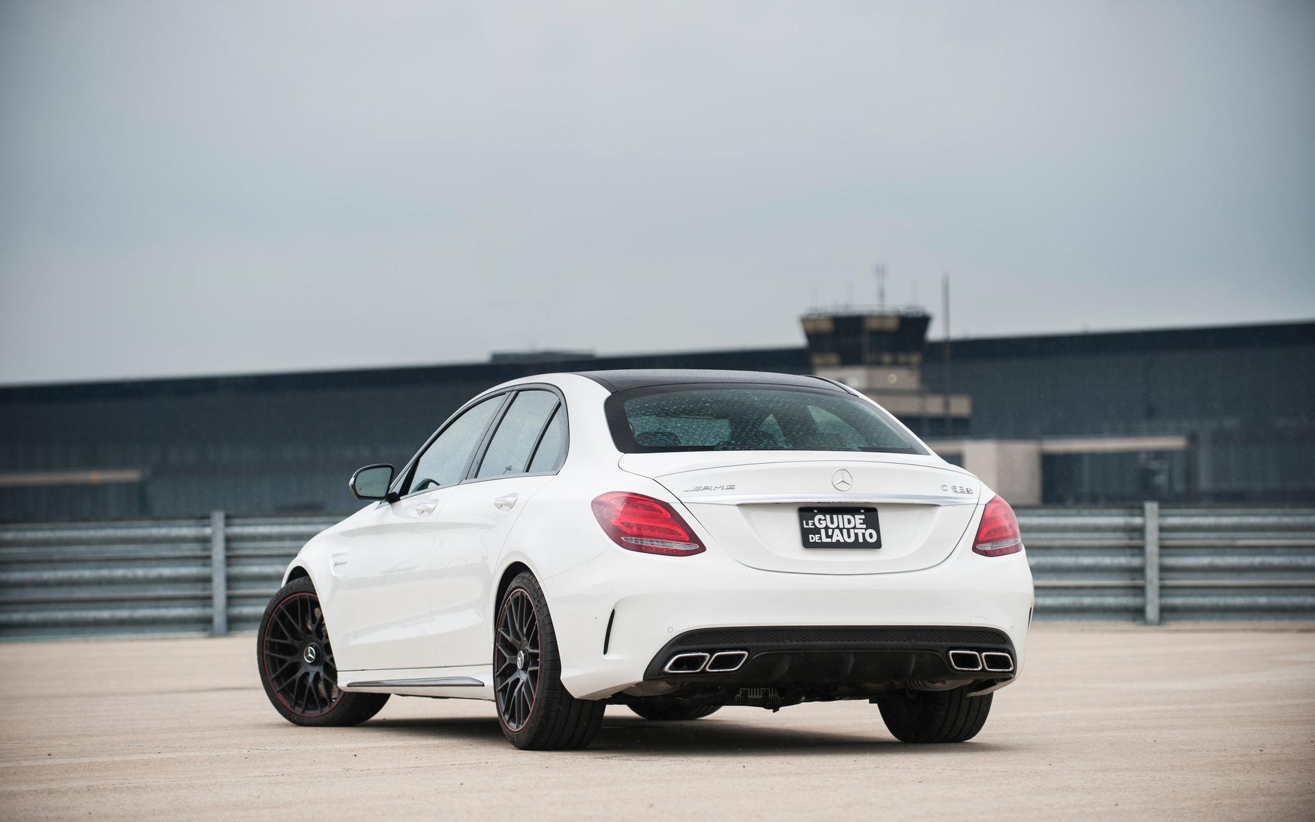 #1 : Mercedes-AMG C63 S