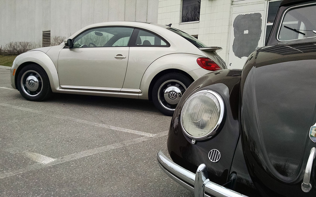 First Drive 2015 Vw Beetle Classic The Car Guide
