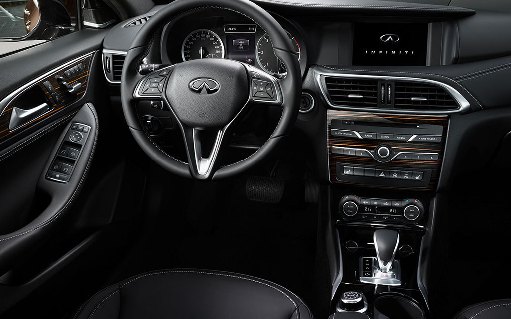A Peek Inside The Infiniti Q30 Active Compact The Car Guide