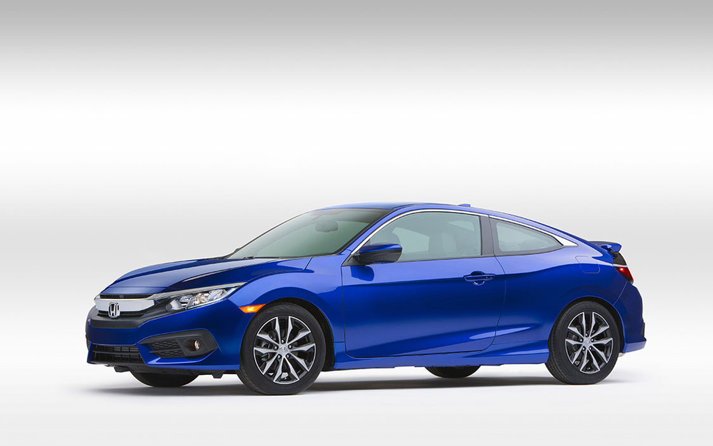 Honda Officially Unveils Redesigned 2016 Civic Coupe 26