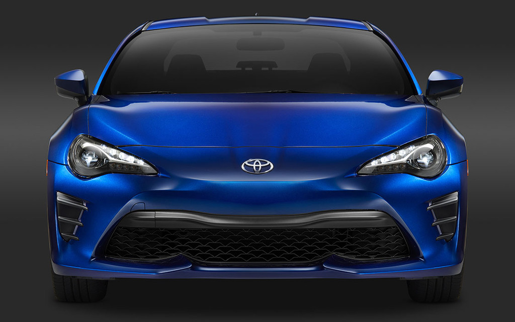 Scion FR-S to be called Toyota 86 for 2017 model year - The