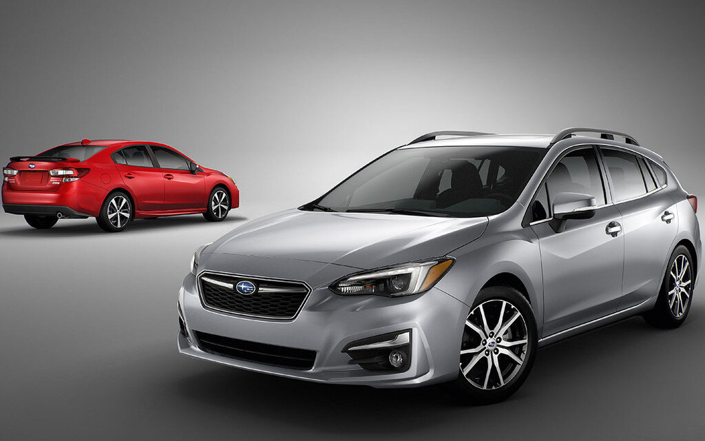 2017 subaru impreza leans heavily on concept car for. Black Bedroom Furniture Sets. Home Design Ideas