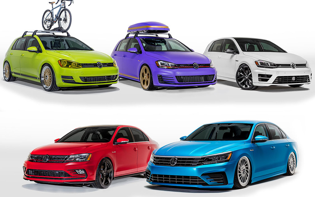 Volkswagen Unveils 2016 Enthusiast Show Fleet