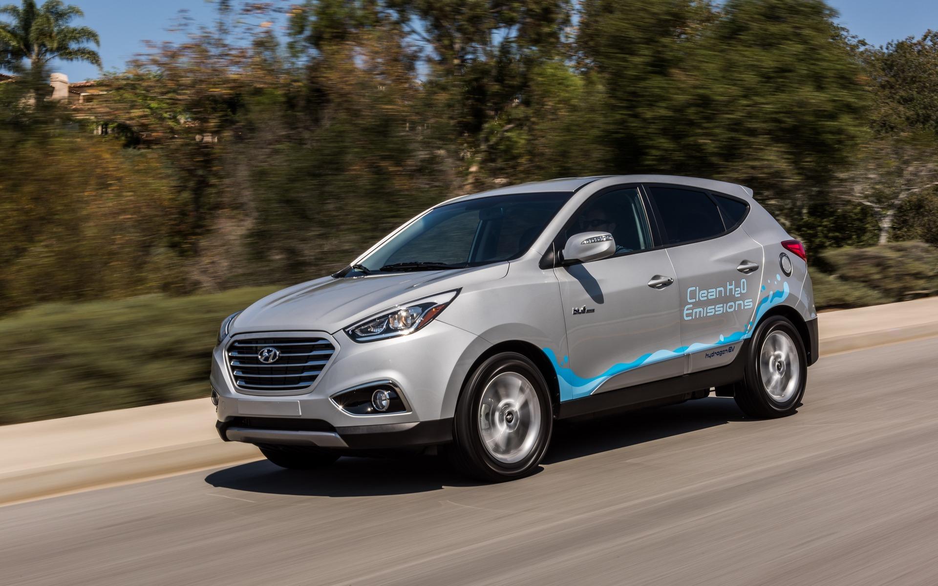 2016 Hyundai Tucson FCEV