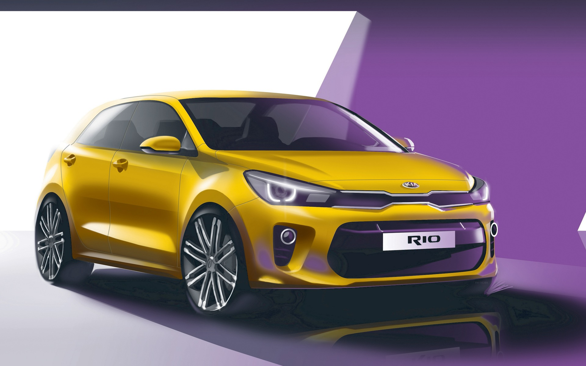 Lovely All New Kia Rio To Make Global Debut In Paris