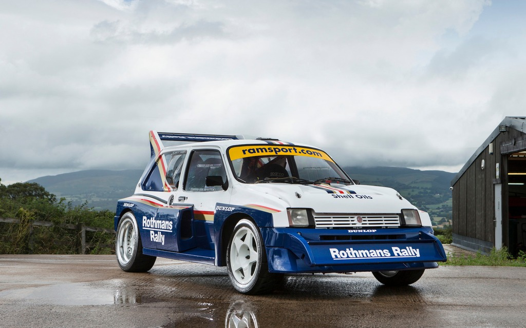 Group B\'s Unknown Contender: An MG Metro 6R4 For Sale - The Car Guide