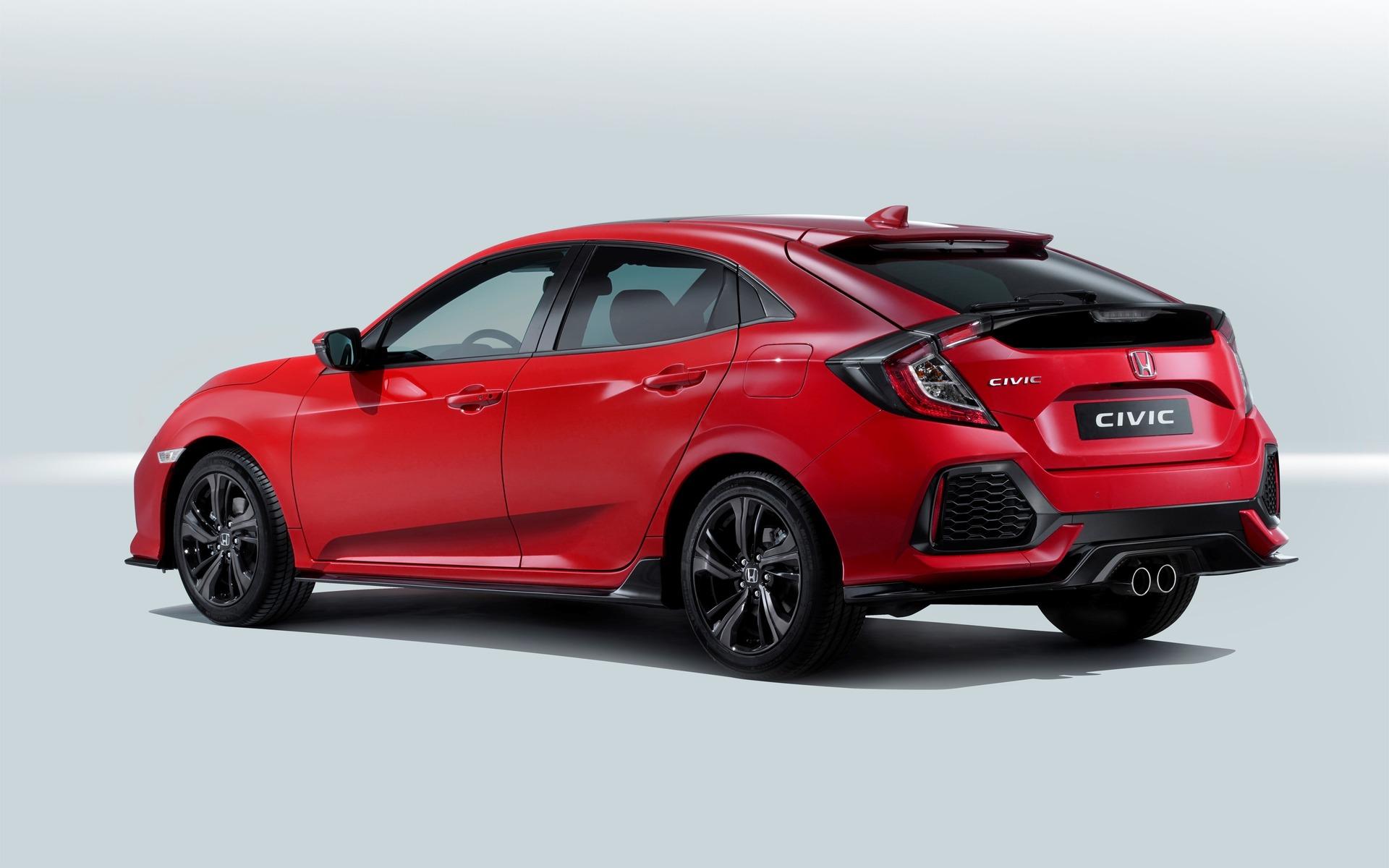 Voici La Version De Production De La Honda Civic Hatchback