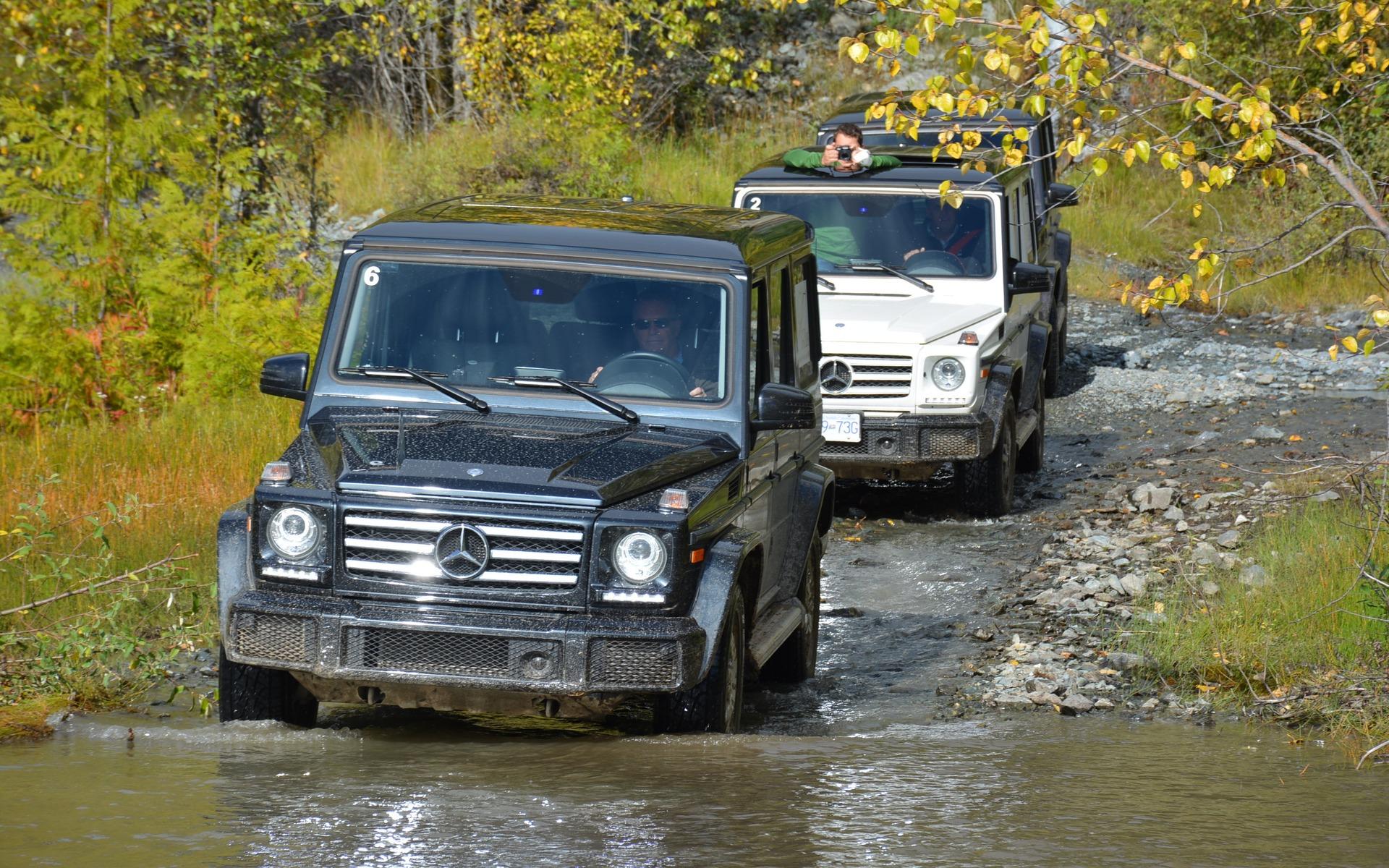 Mercedes-Benz G-Class Experience