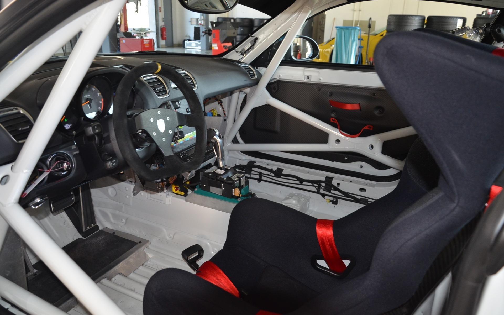 Homologated Race Car