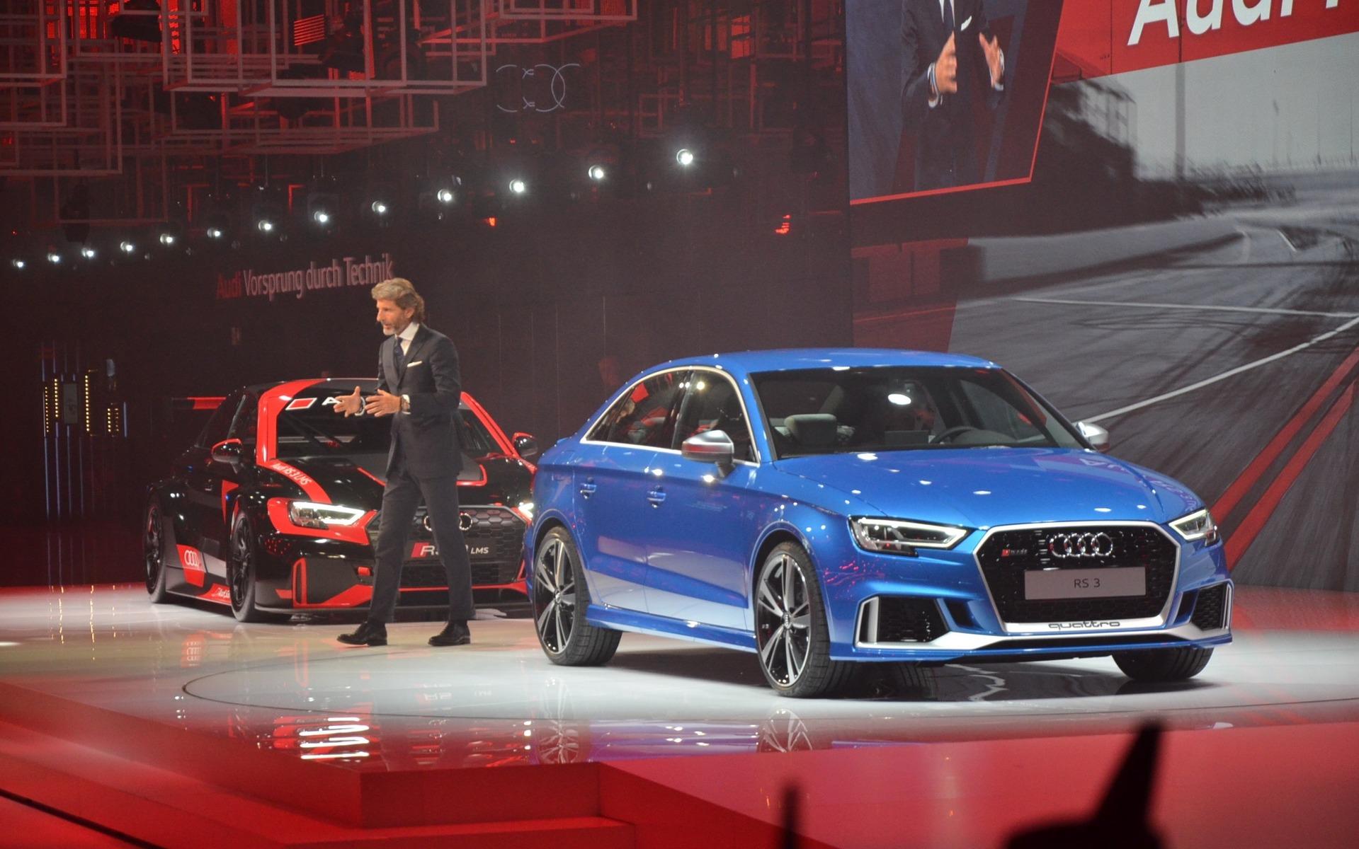 Audi RS 3 - Arrivée programmée au Canada à l'été 2017