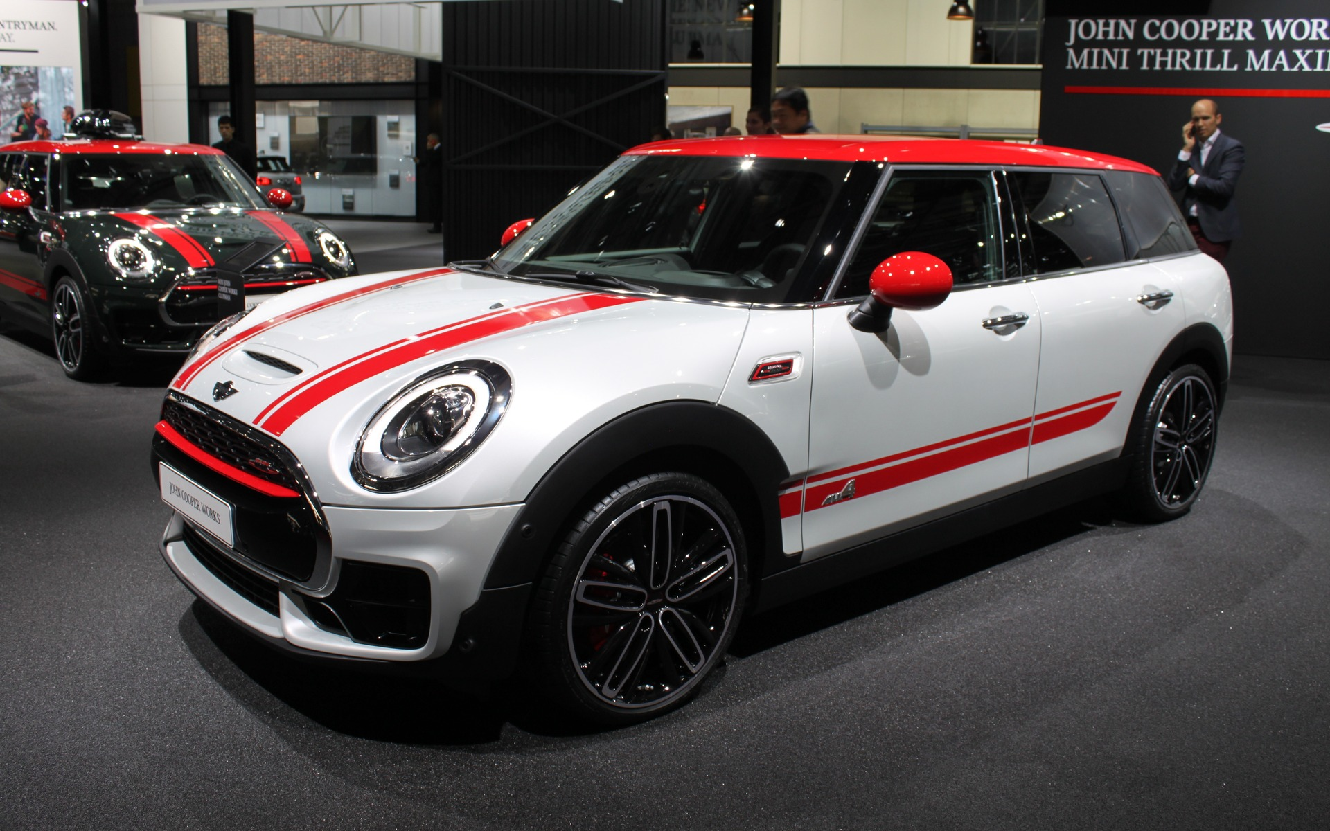 2017 mini john cooper works clubman revealed ahead of. Black Bedroom Furniture Sets. Home Design Ideas
