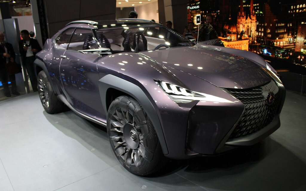 lexus ux concept to be unveiled at paris auto show the car guide. Black Bedroom Furniture Sets. Home Design Ideas