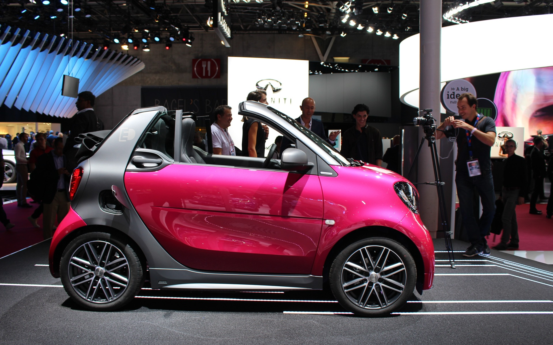2017 smart fortwo electric drive return of the electric city car the car guide. Black Bedroom Furniture Sets. Home Design Ideas