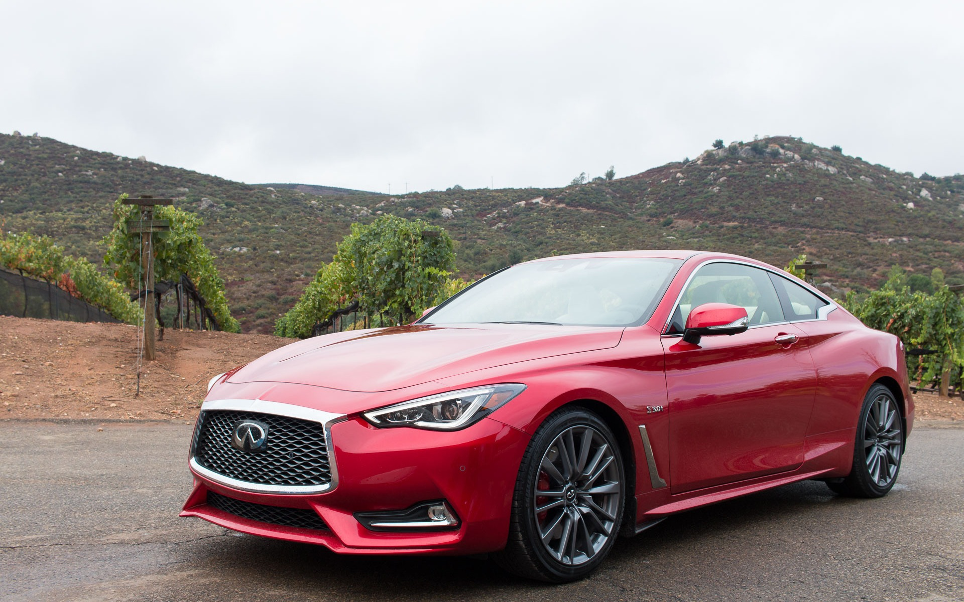 2017 Infiniti Q60 Red Sport A Sport Coupe Made For Real